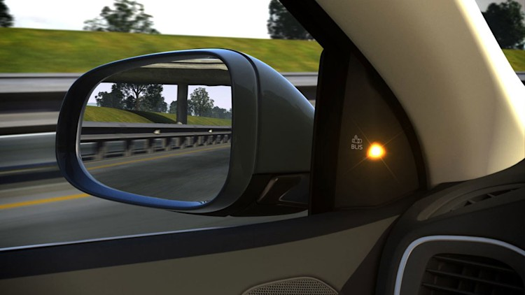 Nice to have: Blind-spot detection