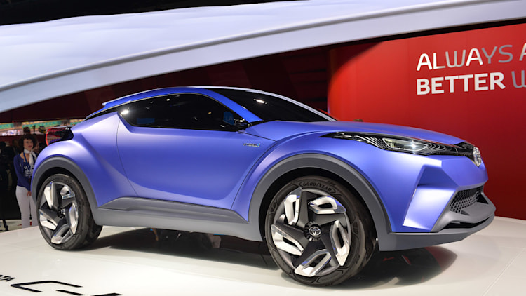 toyota planning new small crossover autoblog. Black Bedroom Furniture Sets. Home Design Ideas