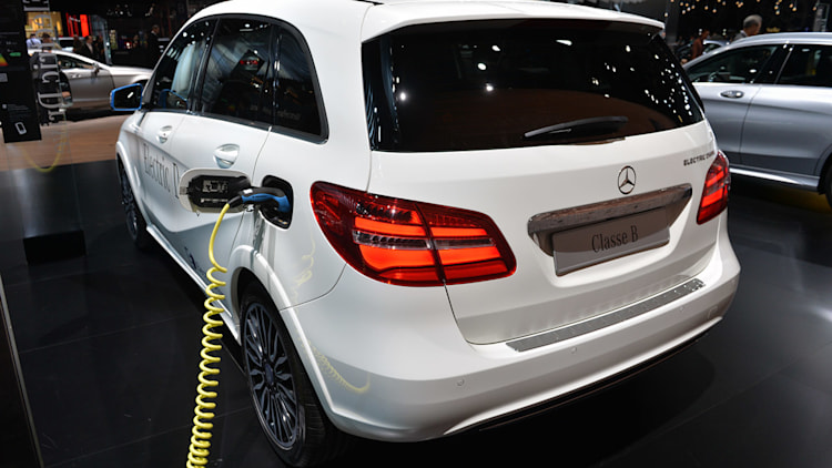 Mercedes may end Tesla supply agreement for B-Class Electric Drive ...