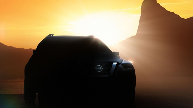 Nissan 2014 Sao Paulo Motor Show mystery crossover teaser