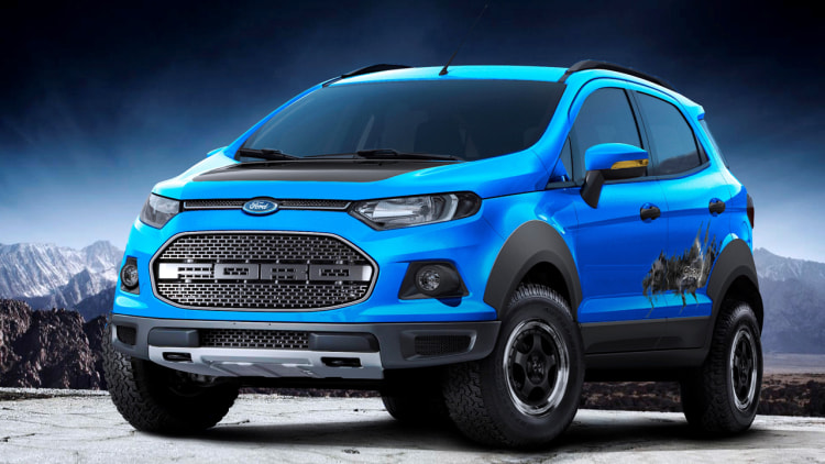 Ford EcoSport Storm concept swallows a Raptor in Sao Paulo - Autoblog