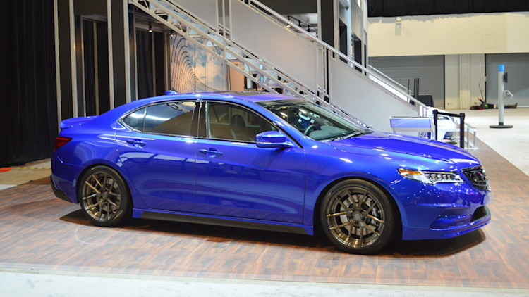 Acura teams with Galpin to sport-up the 2015 TLX - Autoblog