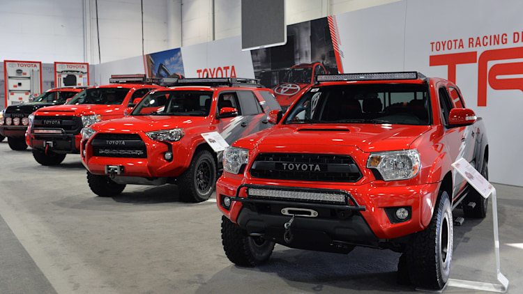 Toyota TRD Pro Chase Trucks are ready to hit the desert at ...