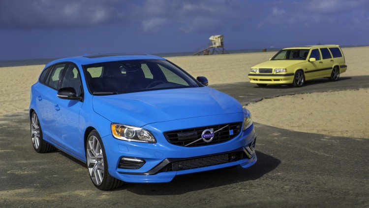 Volvo celebrates 20 years of sleeper wagons with 850 T-5R and V60 Polestar - Autoblog