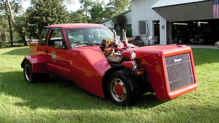 1998 Chevrolet S-10 Fire Truck Hot Rod Auction Photo Gallery