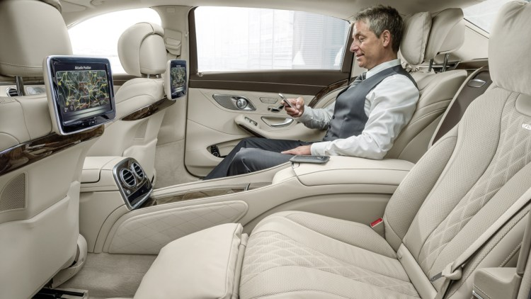 2016 MercedesMaybach S600 offers the plutocratic life for