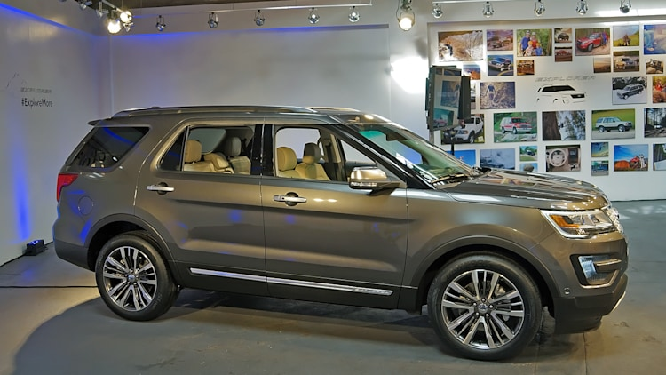 2016 Ford Explorer revealed with new 2.3-liter EcoBoost - Autoblog