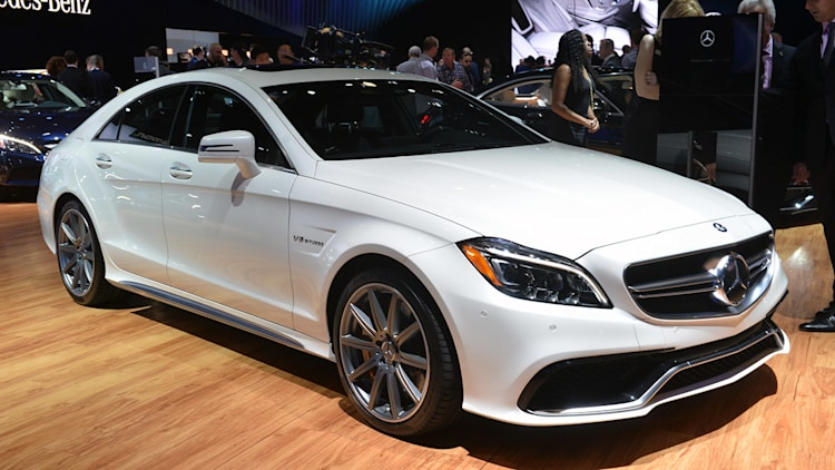 2015 mercedes benz cls63 amg s 4matic stands out in the la crowd - Mercedes Amg Cls63 2015