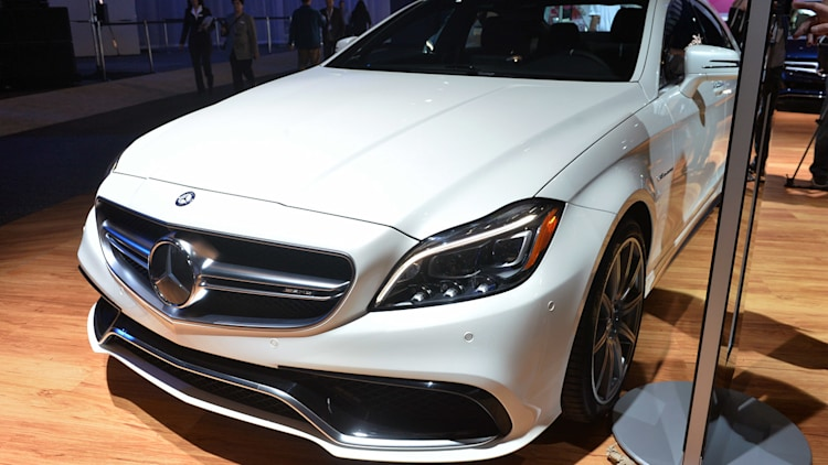 2015 mercedes benz cls63 amg s 4matic stands out in the la. Black Bedroom Furniture Sets. Home Design Ideas