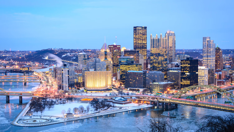 Pittsburgh, Pennsylvania: I-279