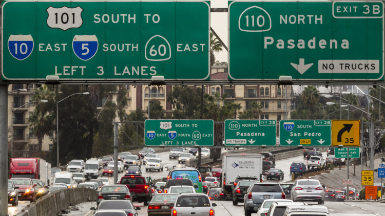 Los Angeles: I-10 / US-101