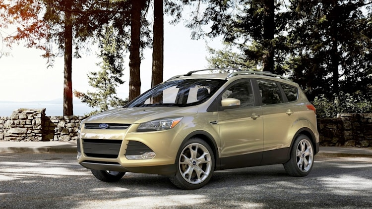 gold ford escape