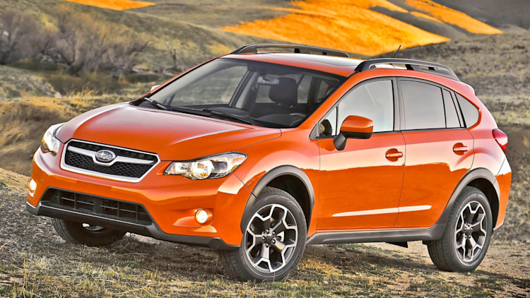 orange xv crosstrek