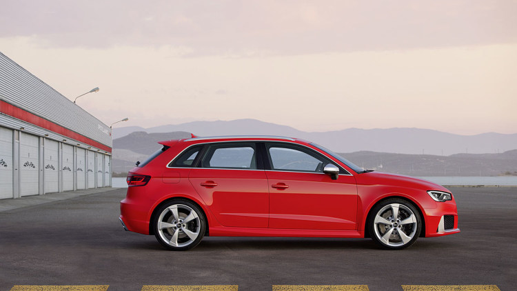 Audi RS3 Sedan coming to America with over 400 hp  Autoblog