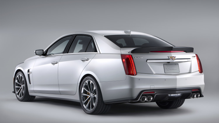 2016 Cadillac CTSV to hit dealers this summer start at 83995