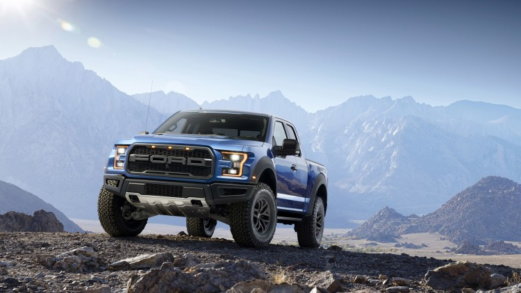 2017 Ford F-150 Raptor In The Mountains