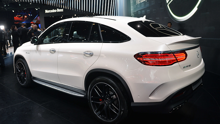 mercedes has x6 in its crosshairs with the gle coupe   autoblog