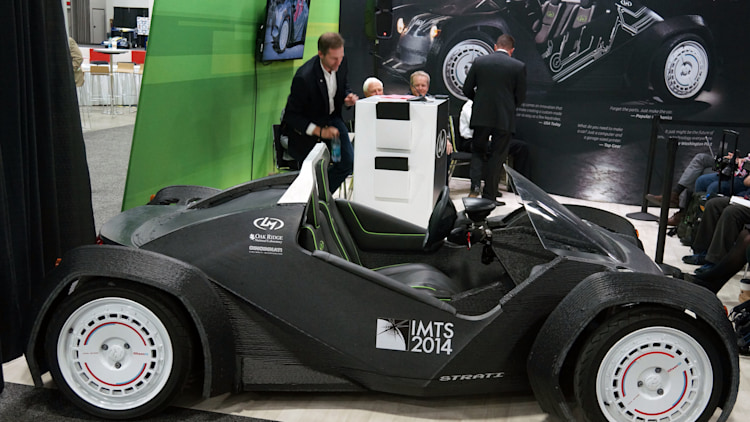 Local Motors Builds Strati The World 39 S First 3d Printed