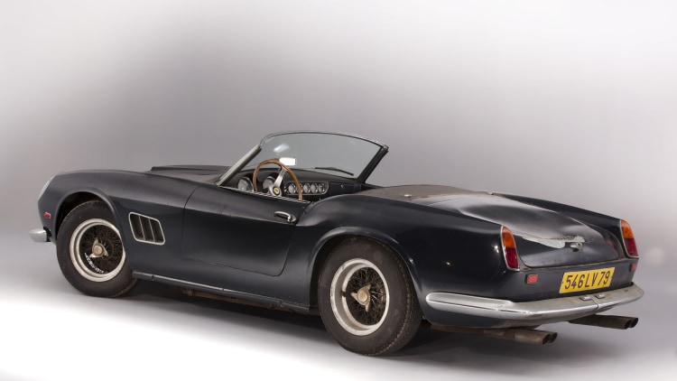 ferrari 250 california record headlines 28 5m baillon barnfind. Cars Review. Best American Auto & Cars Review