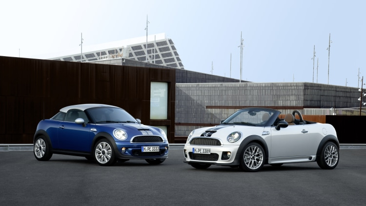Mini says goodbye to Coupe and Roadster - Autoblog