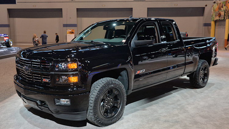 Chevy Silverado Midnight Edition, Custom ready to stand out in pickup line - Autoblog