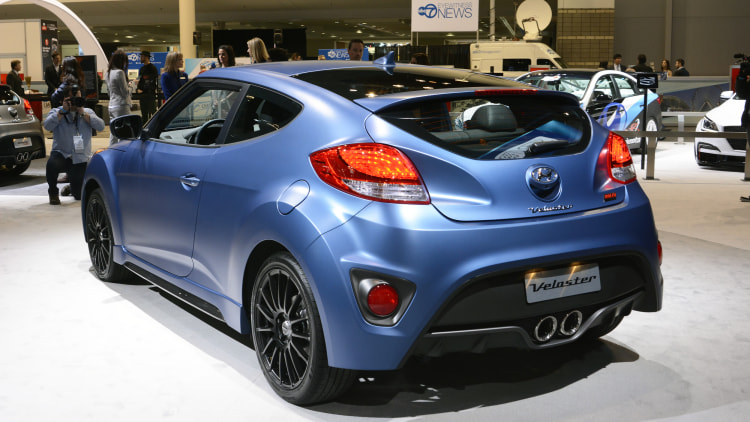 2016 hyundai veloster turbo gets 7 speed dct rally. Black Bedroom Furniture Sets. Home Design Ideas