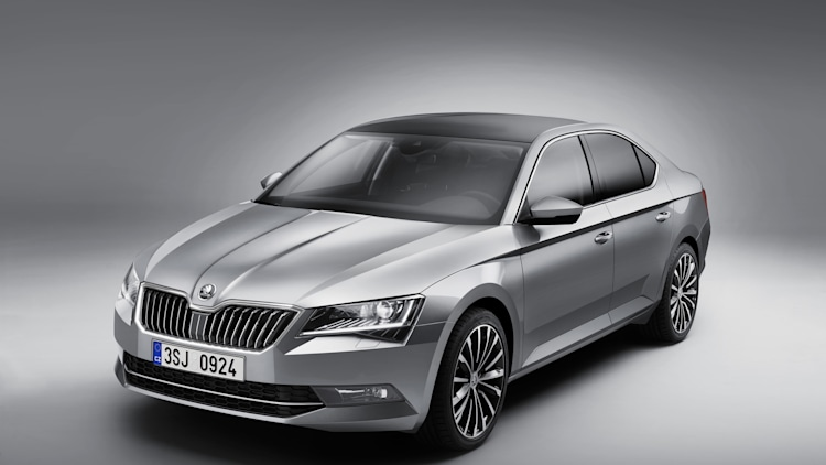Skoda reveals all new superb in prague w video autoblog