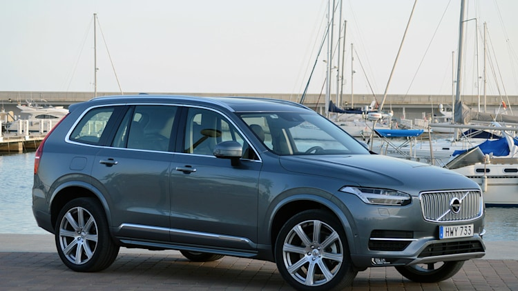 2016 Volvo XC90 gets Top Safety Pick on IIHS crash test wvideo