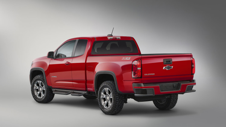 chevy reveals colorado z71 trail boss edition autoblog. Black Bedroom Furniture Sets. Home Design Ideas