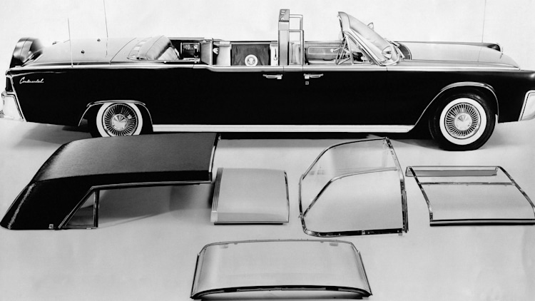 1961 Lincoln Continental Presidential Limousine jfk limo Kennedy limo