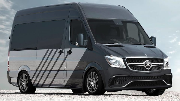 mercedes amg sprinter 63s two-tone exterior