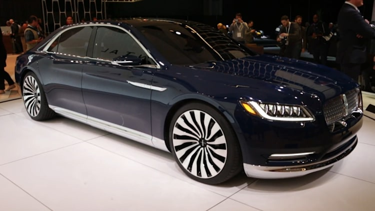 production lincoln continental will debut at detroit auto. Black Bedroom Furniture Sets. Home Design Ideas