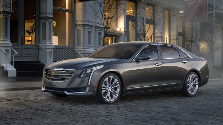 2016 Cadillac CT6 in dark grey with smoke