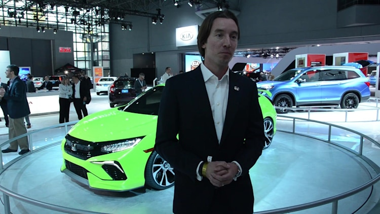Honda Civic Concept Design Interview | 2015 NYIAS | Autoblog Short Cuts