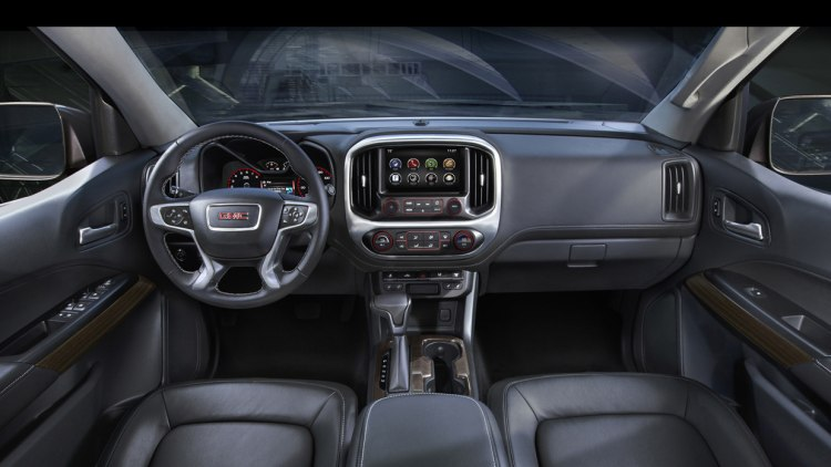 gmc canyon 2015 cabin interior