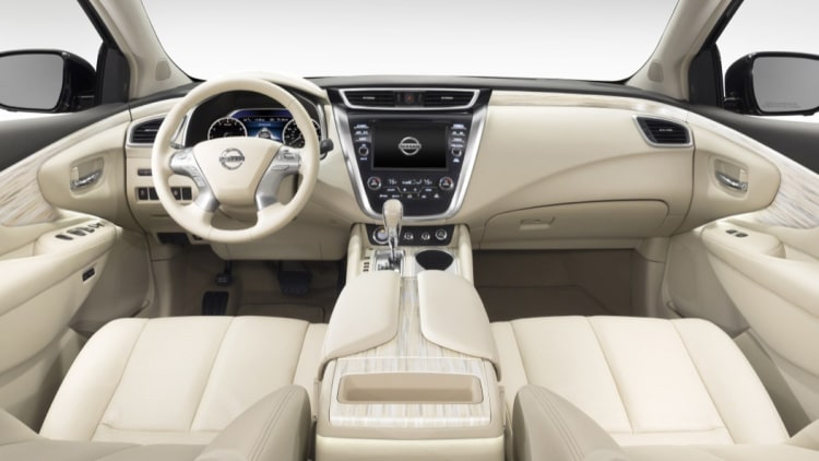 nissan murano 2015 wards interior cabin