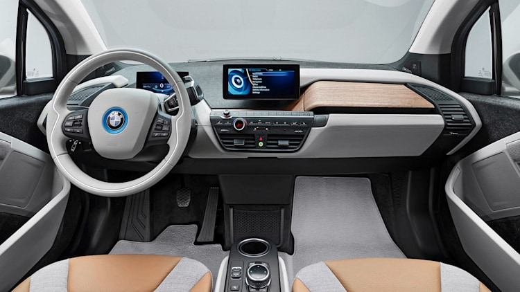 bmw i3 cabin interior wards