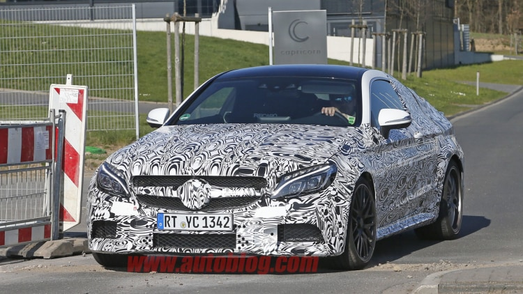 mercedes-amg c63 coupe front