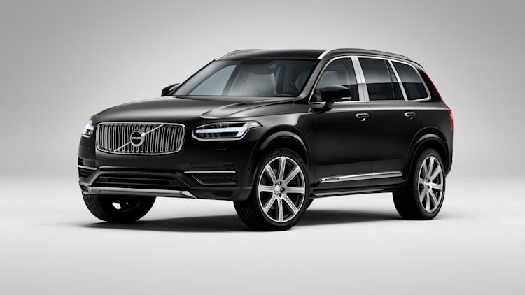 Volvo XC90 Excellence in black from China