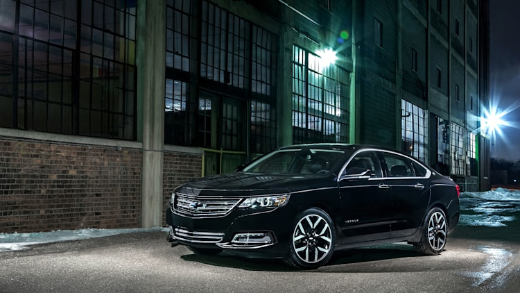 black chevy impala midnight edition