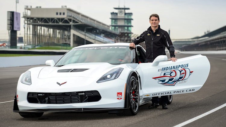 Jeff Gordon Chevy Corvette Z06 pace car