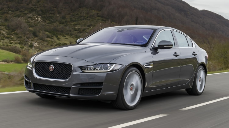 2017 Jaguar XE in Spain