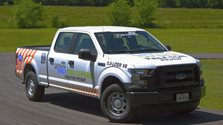 white 2016 ford f-150 cog and propane