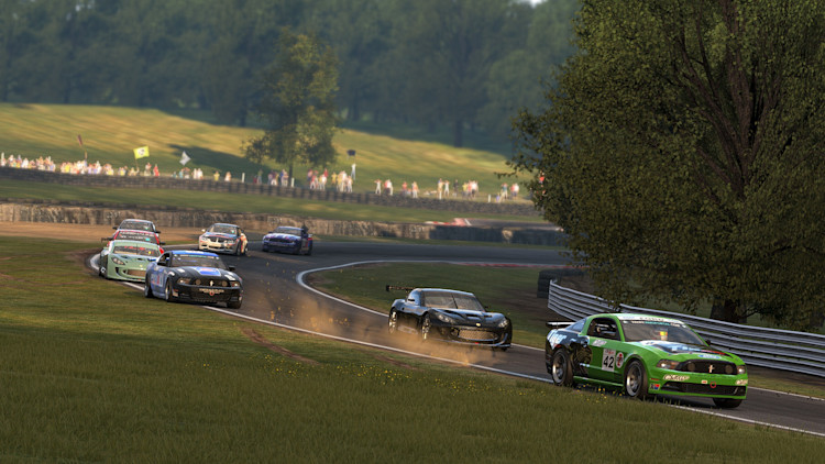 mustang project cars track dirt ginetta
