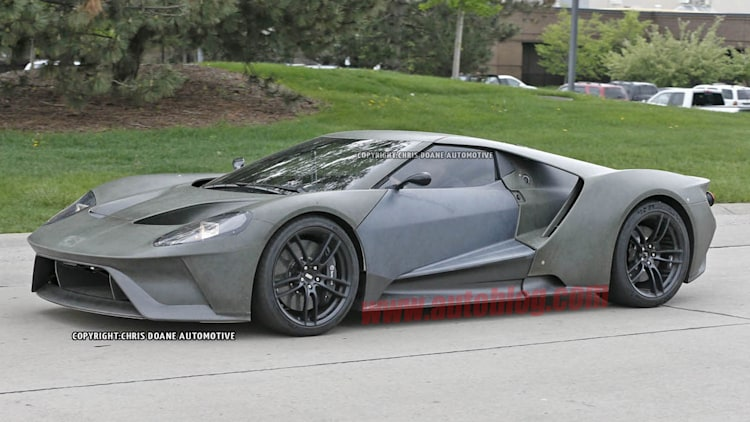 2017 Ford GT spied in the raw - Autoblog