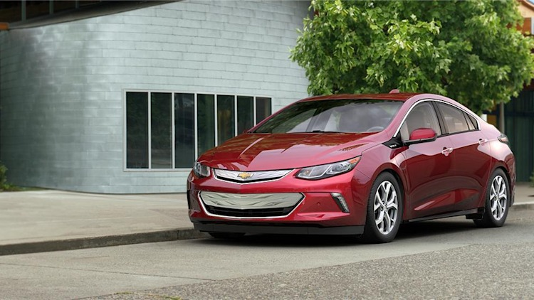 2016 Chevy Volt in Siren Red Tintcoat