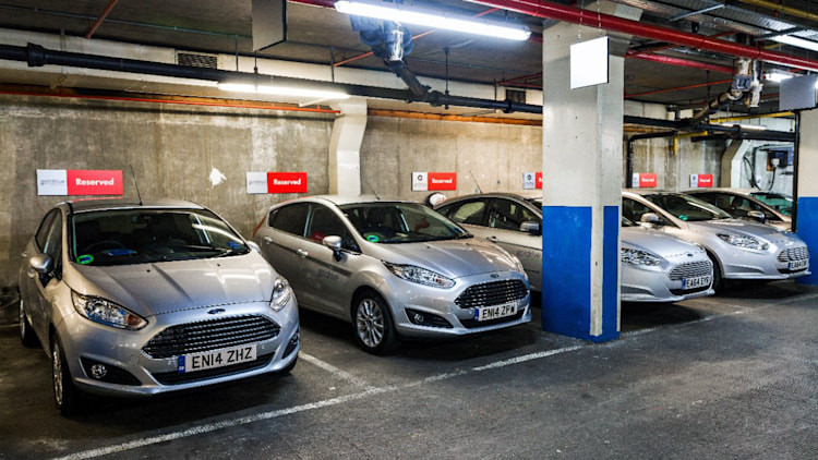 ford godrive carsharing in london