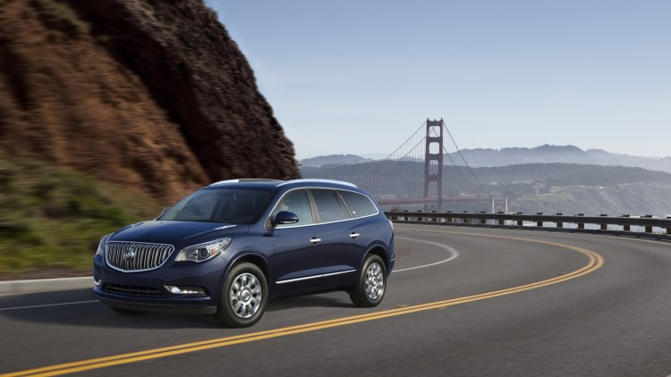 2015 Buick Enclave in blue in San Francisco