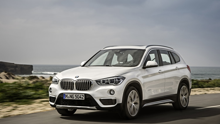 2016 BMW X1 front 3/4