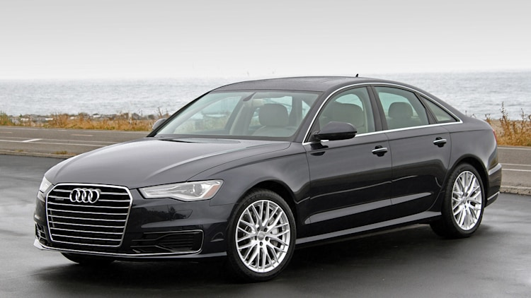 2016 Audi A6 front 3/4 view